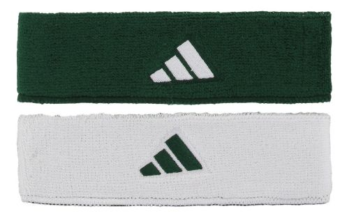 adidas Interval Reversible Headband Headwear - Forest/White