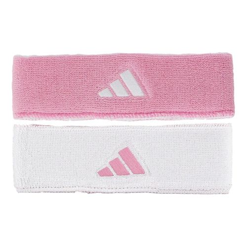 adidas Interval Reversible Headband Headwear - Gala Pink/White