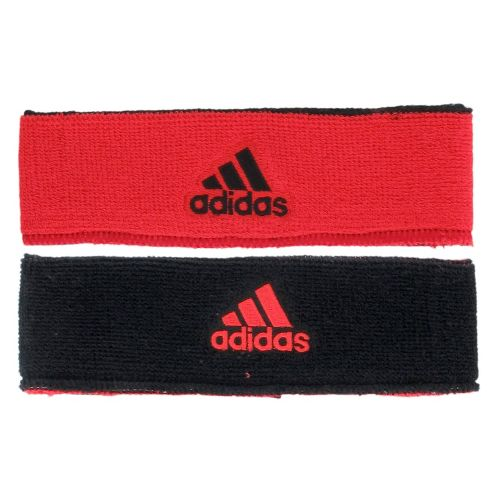 adidas Interval Reversible Headband Headwear - Infra-Red/Black
