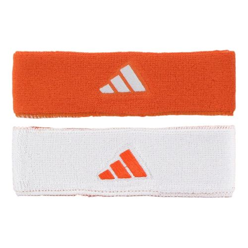 adidas Interval Reversible Headband Headwear - Team Orange/White