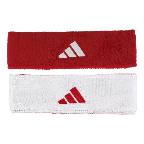 adidas Interval Reversible Headband Headwear - University Red/White