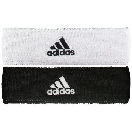 adidas Interval Reversible Headband Headwear - White/Black