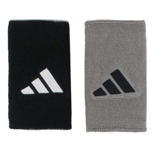 adidas Interval Large Reversible Wristband Handwear - Black/White