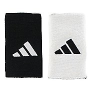 adidas Interval Large Reversible Wristband Handwear