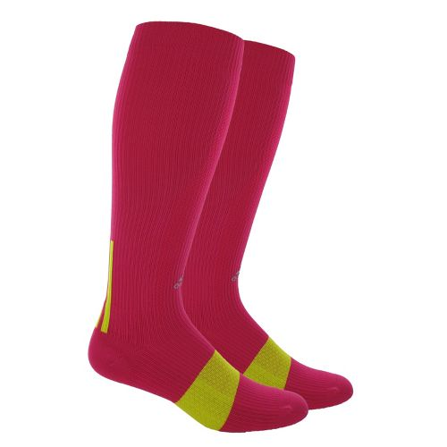 adidas Recovery OTC Sock Injury Recovery - Bright Pink/Lab Lime M