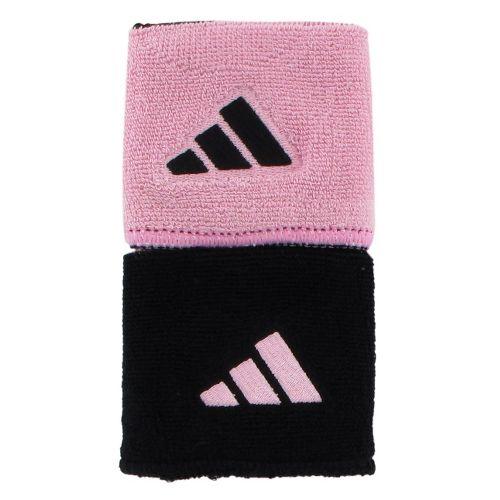 adidas Interval Reversible Wristband Handwear - Black/Gala Pink