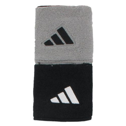 adidas Interval Reversible Wristband Handwear - Black/White