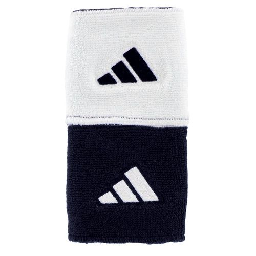 adidas Interval Reversible Wristband Handwear - Collegiate Navy/White