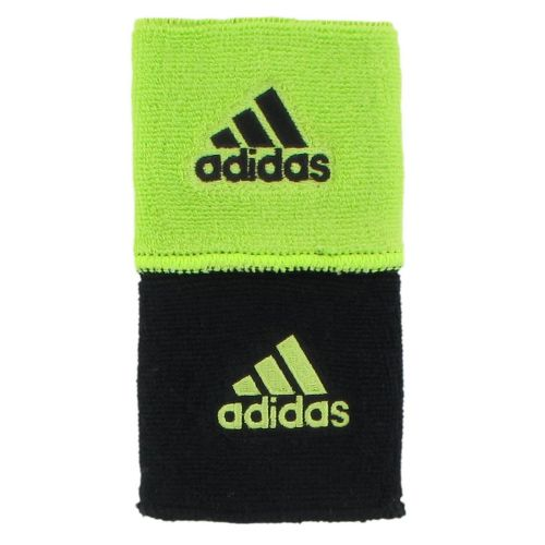 adidas Interval Reversible Wristband Handwear - Electricity/Black