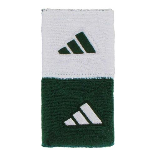 adidas Interval Reversible Wristband Handwear - Forest/White