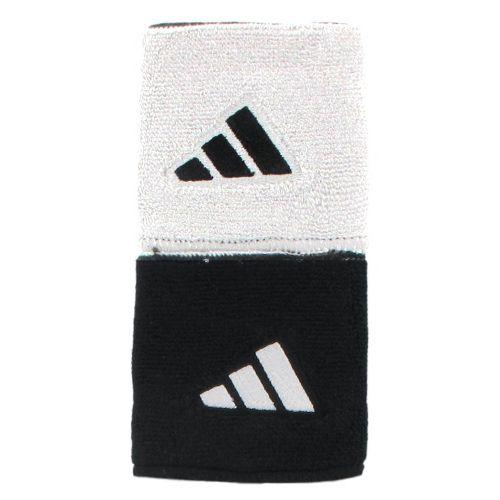adidas Interval Reversible Wristband Handwear - White/Black