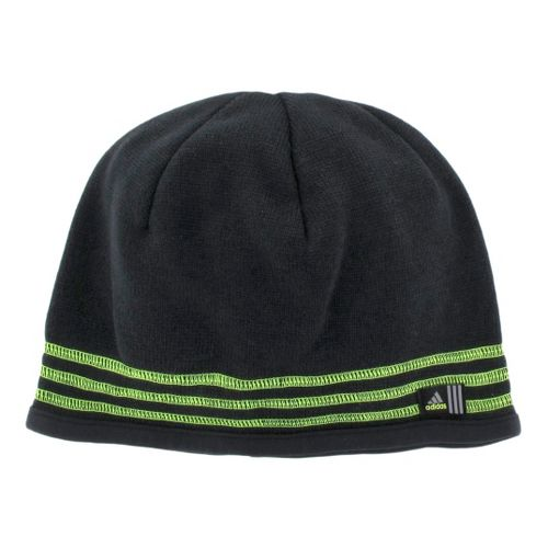 Mens adidas Team Speed Beanie Headwear - Black/Electricity
