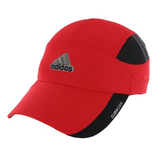 Mens adidas ClimaCool Blade Cap Headwear - Vivid Red/Black