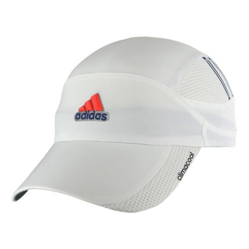 Mens adidas ClimaCool Blade Cap Headwear - White/Hero Ink