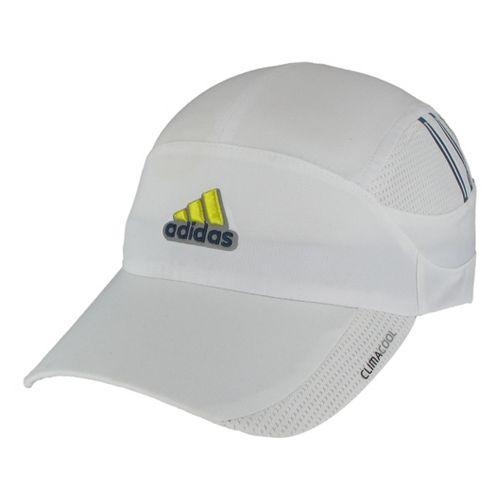 Mens adidas ClimaCool Blade Cap Headwear - White/Sub Blue
