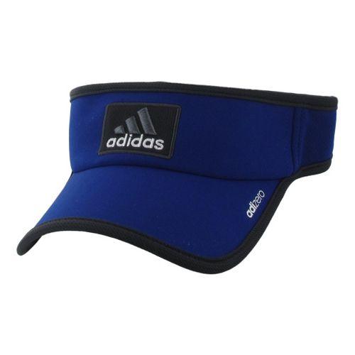 Mens adidas adiZero II Visor Headwear - Heather Iris/Phantom