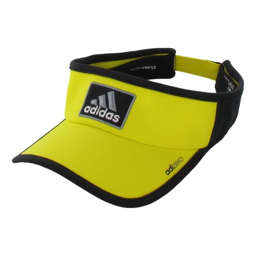 Mens adidas adiZero II Visor Headwear - Vivid Yellow/Black