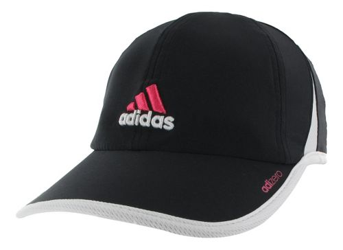 Womens adidas adiZero II Cap Headwear - Black/White