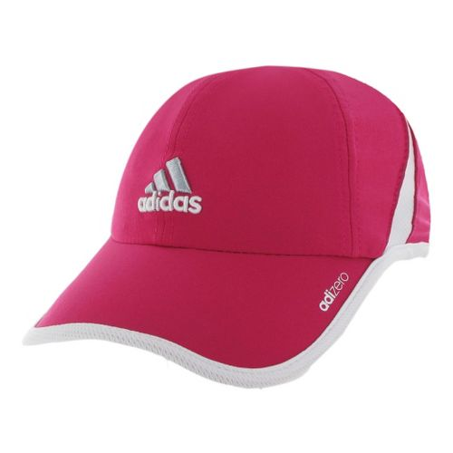 Womens adidas adiZero II Cap Headwear - Blast Pink/White