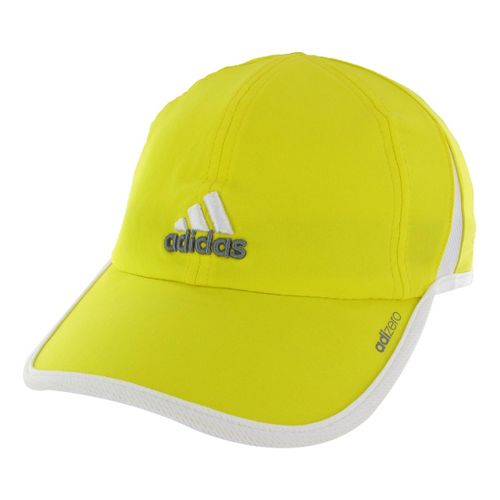 Womens adidas adiZero II Cap Headwear - Vivid Yellow/White