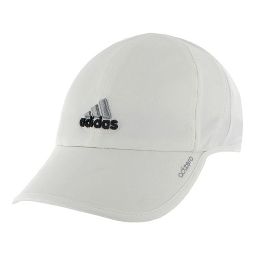 Womens adidas adiZero II Cap Headwear - White/Black