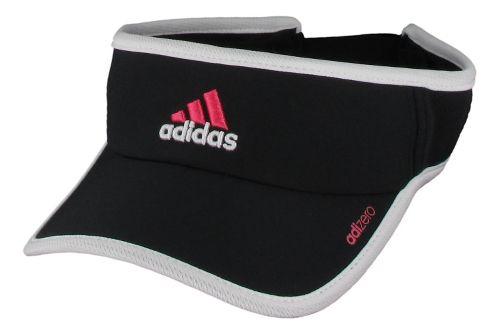 Womens adidas W adiZero II Visor Headwear - Black/White