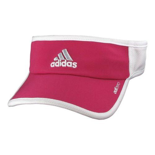 Womens adidas W adiZero II Visor Headwear - Blast Pink/White