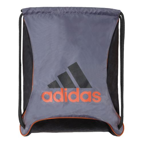 adidas Bolt Sackpack Bags - Lead/Black Helix Emboss