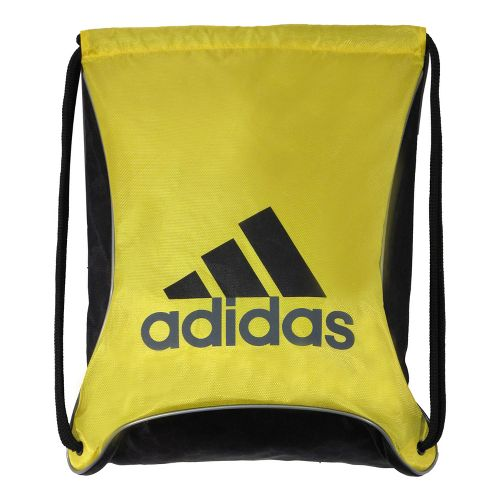 adidas Bolt Sackpack Bags - Vivid Yellow/Black Helix Emboss