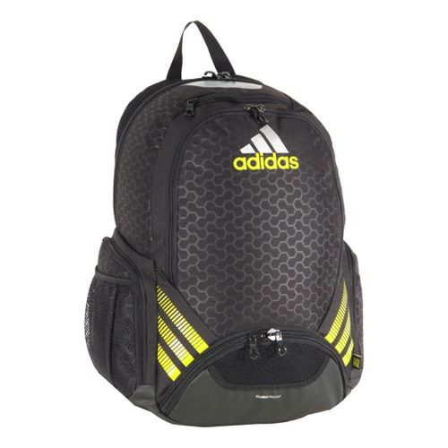 adidas Team Speed Backpack Bags - Helix Print Emboss/Vivid Yellow