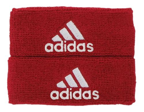 adidas Interval 1-Inch Muscle Band Handwear - University Red/White