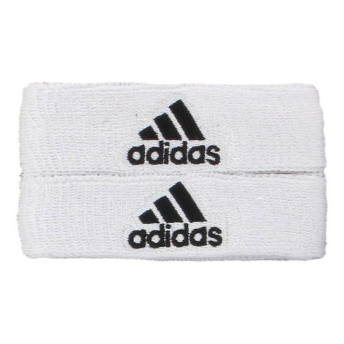 adidas Interval 1-Inch Muscle Band Handwear - White/Black