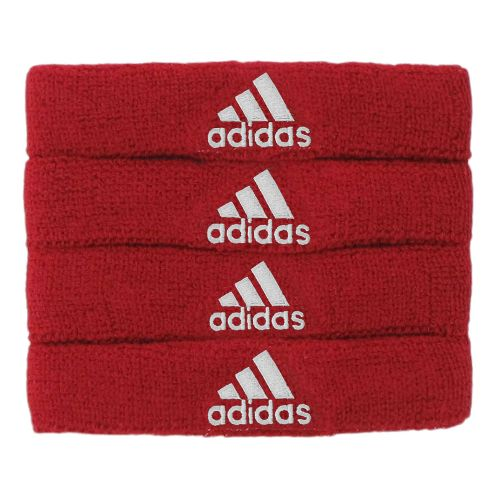 adidas Interval 3/4-Inch Bicep Band Handwear - University Red/White