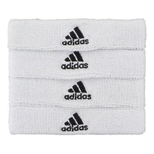 adidas Interval 3/4-Inch Bicep Band Handwear - White/Black
