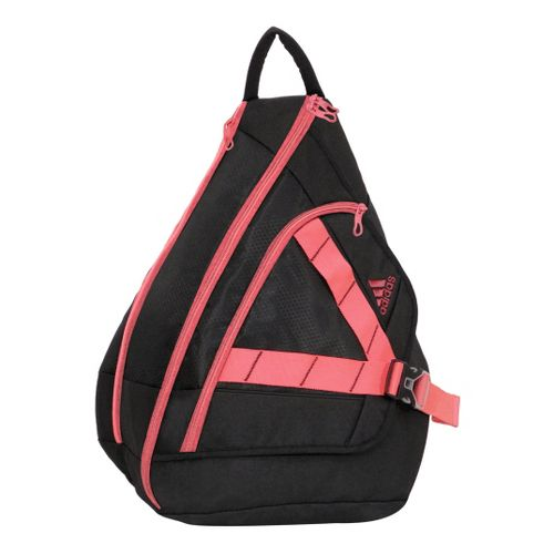 Womens adidas Rydell Sling Bags - Black/Red Zest