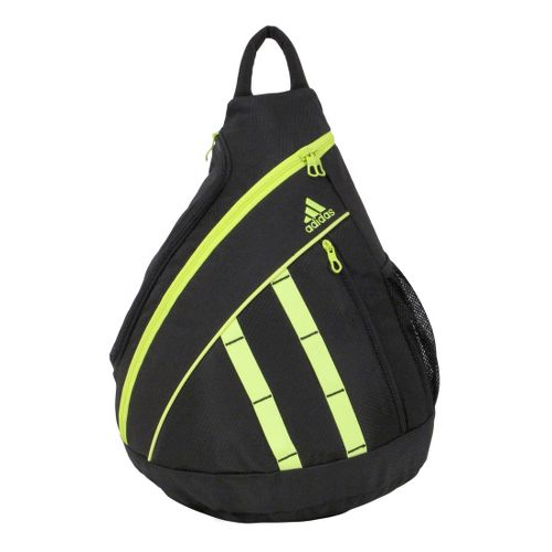 Womens adidas Shermer Sling Bags - Black/Electricity