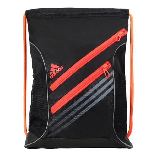adidas Strength Sackpack Bags - Black/Infrared