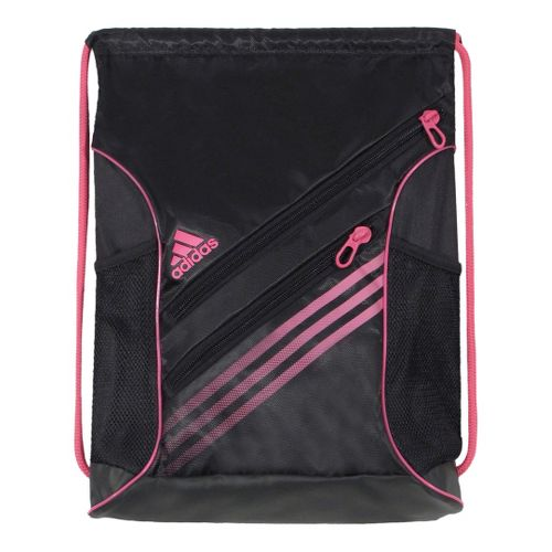 adidas Strength Sackpack Bags - Black/Ray Pink
