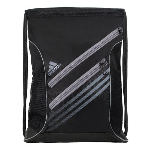 adidas Strength Sackpack Bags - Black/Tech Grey