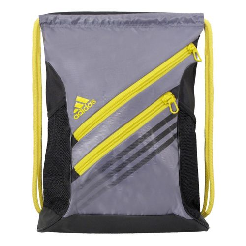 adidas Strength Sackpack Bags - Tech Grey/Vivid Yellow