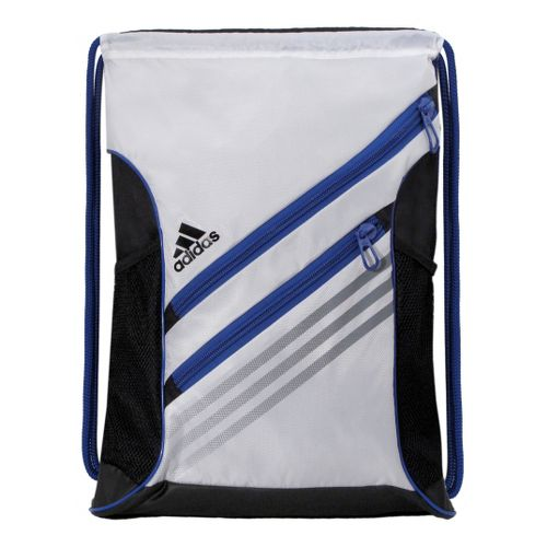 adidas Strength Sackpack Bags - White/Cobalt