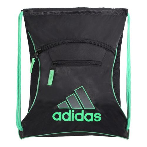 adidas Momentum Sackpack Bags - Black/Green Zest