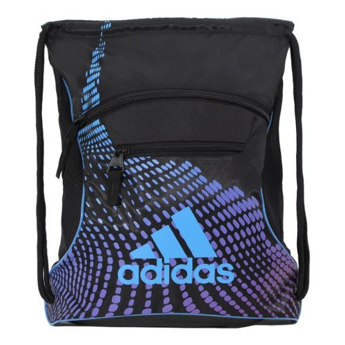 adidas Momentum Sackpack Bags - Black/Joy Blue
