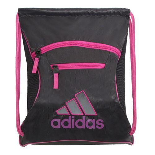 adidas Momentum Sackpack Bags - Black/Vivid Pink
