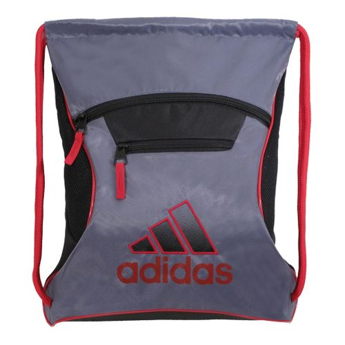 adidas Momentum Sackpack Bags - Lead/University Red
