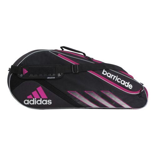 adidas Barricade III Tour 3 Racquet Bag - Black/Vivid Pink