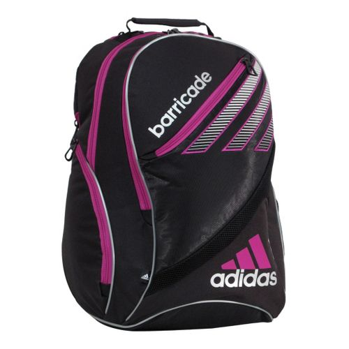 adidas Barricade III Racquet Backpack Bags - Black/Vivid Pink