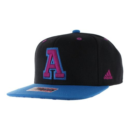 Womens adidas Crazy Quick Snapback Cap Headwear - Black/Joy Blue