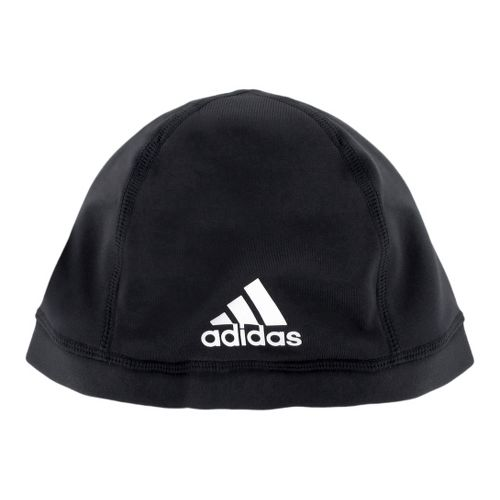 Mens adidas Football Skull Cap Headwear - Black
