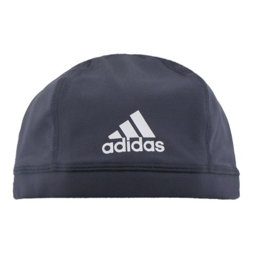 Mens adidas Football Skull Cap Headwear - Pure Steel